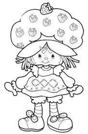 strawberry shortcake girls kids coloring pages easter coloring