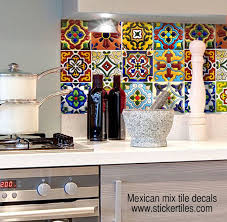 Vinyl Wall Tiles For Kitchen - kitchen bathroom tile decals vinyl sticker by snazzydecals for