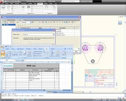 autocad mechanical autocad family