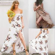 discount womens casual strapless summer dresses 2017 womens