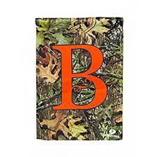 monogram garden flag letter b outdoor flags