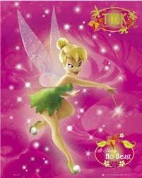 disney tinkerbell peter pan cartoon movie poster 16 20 inches