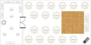40x60 plus 20x40 wedding dancefloor banquet dj7 floor plan dal