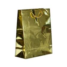 gold gift bags gold foil metallic retail gift bags