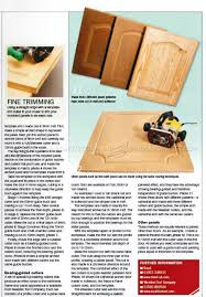 How To Make Solid Wood Cabinet Doors Routing Panels In Solid Wood U2022 Woodarchivist