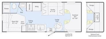 United Center Floor Plan 24 U0027 Winnebago Chalet Floor Plan Yelp