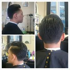 haircut done by rosy comb over with taper i do taper fade bold