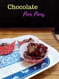 pom pom cuisine chocolate pom poms 2 ingredient dessert