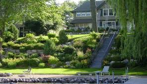 Backyard Slope Landscaping Ideas Steep Slope Landscaping Ideas Webzine Co