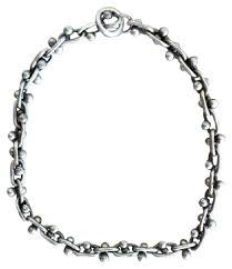 silver chain choker necklace images Sarah pacini silver sterling chain choker necklace tradesy jpg