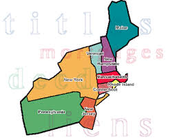northeast map of us northeast map