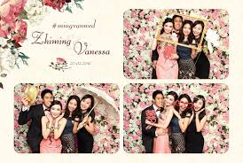 photobooth for wedding wedding photo booth singapore with