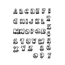 dessin ã colorier alphabet attachã