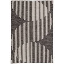 Modern Indoor Outdoor Rugs Modern Serpentine Indoor Outdoor Rug Shades Of Light