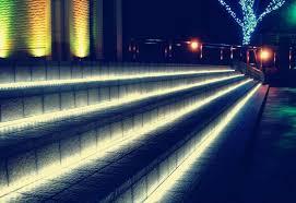 neon rope garden search lighting iluminação