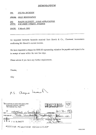 Bank Letter Of Intent Sample the awu scandal miss gillard u0027s story about ralph the property