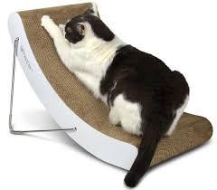 Cat Scratchers Cardboard Cat Scratching Post Buy Modern Cat Scratchers For Your Pet Hepper