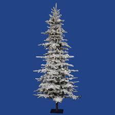 artificial tree lights problem flocked christmas trees