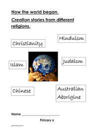 creation stories from range of major religions by pamela2223