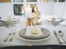 thanksgiving serveware elegant and simple thanksgiving tablescape aol lifestyle food