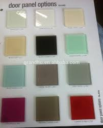 china top 3mm 4mm 5mm 6mm 8mm soft white beige glass door panel