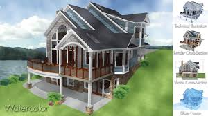 architectural country homes cubtab simple modern houses home decor