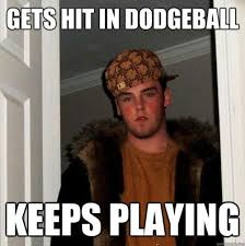 Dodgeball Movie Memes - steve plays dodgeball funny meme funny memes