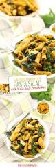 sun dried tomato pesto pasta salad with kale and artichokes