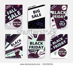 black friday email template black friday sale inscription design template stock vector