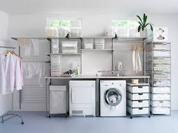 Laundry Room Storage Units Originallaundry Rolling Shelves Organizations4x3lg Utility Room
