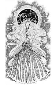 moon goddess by yanadhyana on deviantart