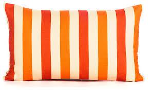 image gallery orange pillows