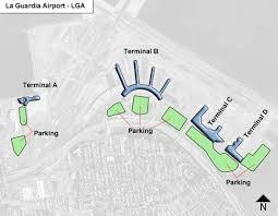 la guardia lga airport terminal map