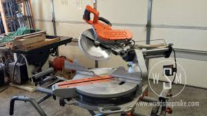 compound miter saw vs table saw ridgid compound sliding miter saw ms1290lza up for review wood