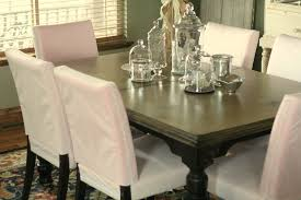 Dining Room Chairs With Slipcovers Sew A Parsons Chair Slipcovers Home Design Ideas Pattern For