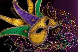 mardi gra mask mardi gras mask and on a purple background stock photo image
