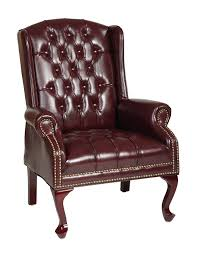 Queen Anne Style by Amazon Com Office Star Traditional Queen Anne Style Vinyl Chair