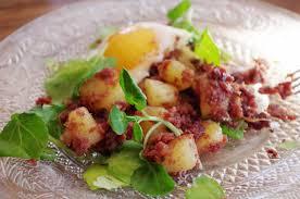 recette traditionnelle cuisine americaine corned beef aux pommes de terre sautées cuisine américaine flan