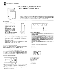 Intermatic 15 Amp Plug In by Download Free Pdf For Intermatic Dt1 Timers Other Manual