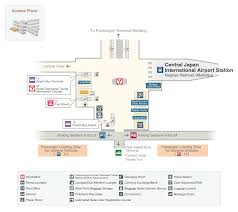 terminal floor plan airport floor map services and facilities chubu centrair