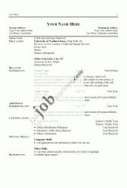 Sample Resume For Auto Mechanic by Examples Of Resumes Emt Basic Resume How To Write A Good Summary