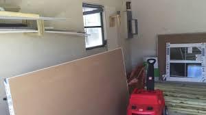 Car Garage Transformed Into Family RoomTheater Room YouTube - Garage family room