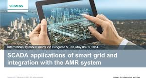 scada applications of smart grid and integration with the amr