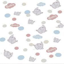 party confetti baby elephant party table confetti madeline mae