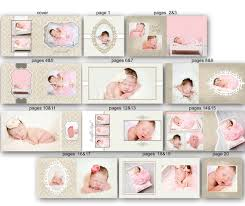 baby album baby album template for photographers 0350 fa