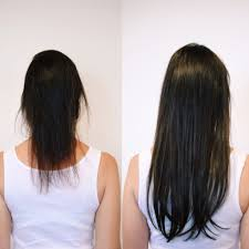 Thin Hair Extensions Before And After by Hair Extension Before U0026 After Neroli Aveda Lifestyle Salon U0026 Spa