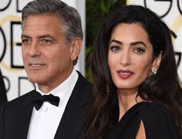 is amal clooney hair one length george and amal clooney welcome a son and daughter spin1038