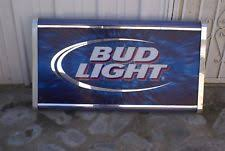 bud light light up sign collectible budweiser signs and tins ebay