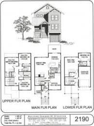 three story home plans vacation home plans by stockton design