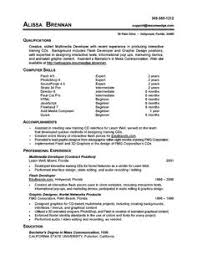 Resume Job Skills Examples by 13 Computer Skills Resume Samplebusinessresume Com